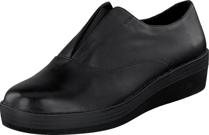 Clarks - Demi Grace Black Leather