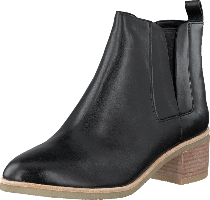 Clarks - Phenia Cresent Black Leather