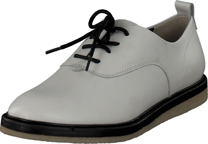 Clarks Empress Lo White Leather