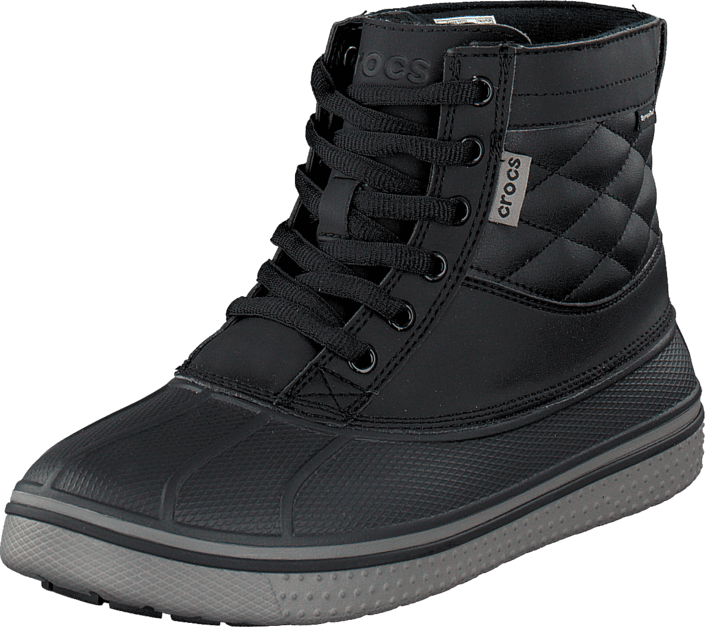 Crocs - AllCast Waterproof Duck Boot M Black/Black