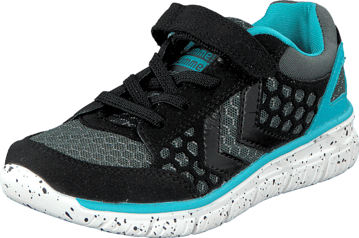 Hummel - Hummel Crosslite Jr Lo Black/Scuba Blue
