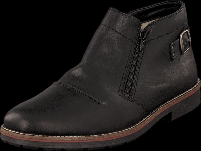 Footway SE - Rieker 35362-00 Schwarz, Skor, Kängor & Boots, Chukka boots, Brun, Herr, 45 797.00