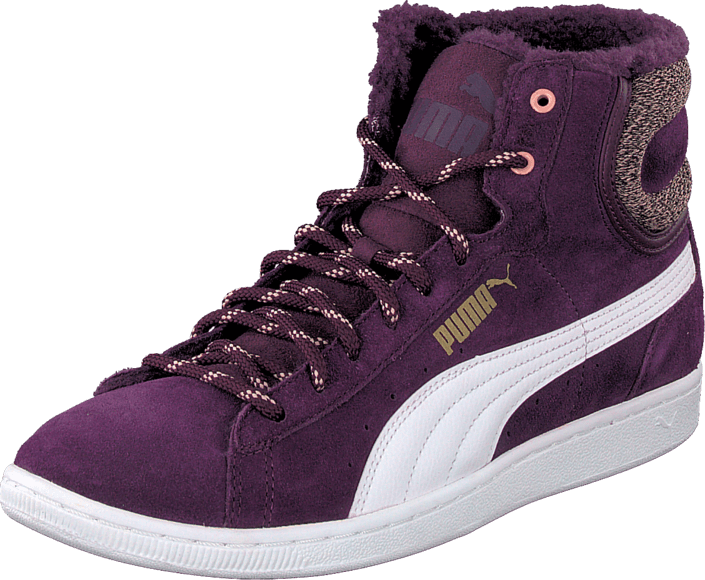 Puma - Puma Vikky Mid Marl Purple