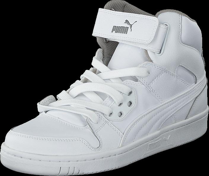 Footway SE - Puma Puma Rebound Street L White-White, Skor, Sneakers & Sportskor, Höga sneaker 547.00