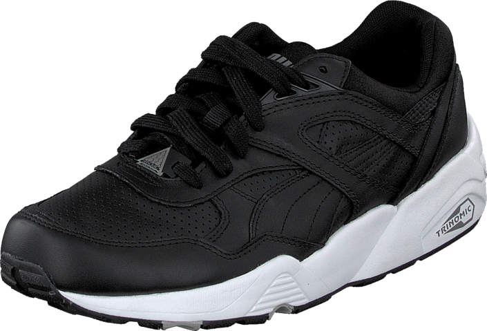 Puma R698 Leather Black