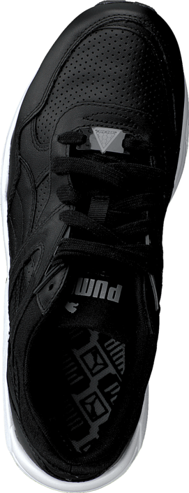 Puma - R698 Leather Black
