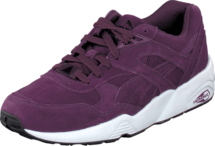 Puma - R698 Allover Suede Purple