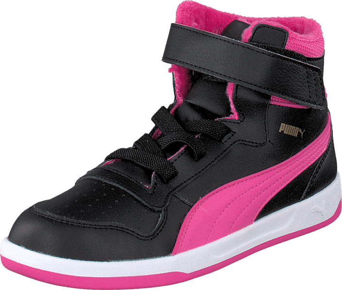 Puma - Puma Liza Mid Fur Kids Black