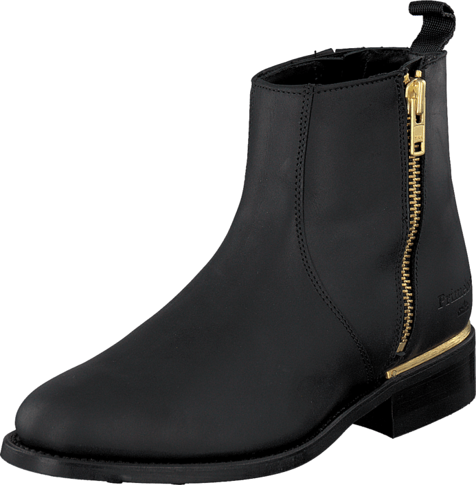 PrimeBoots Ascot Majesty Low Black Brass