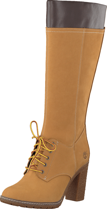 Timberland Glancy Tall Lace Wit CA11S7 Yellow