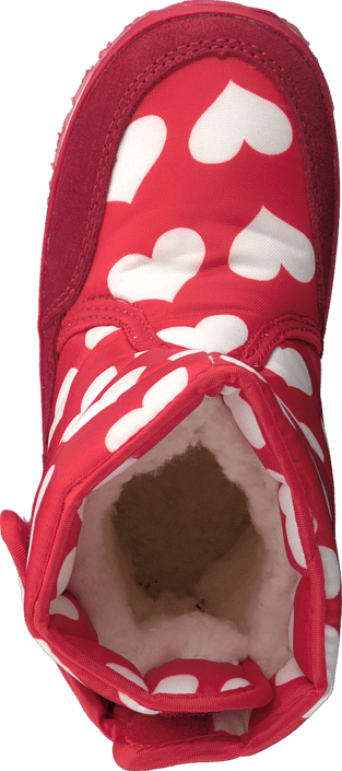 Rubber Duck - Classic SnowJoggers Nylon Print Heart Print/Fiery Red