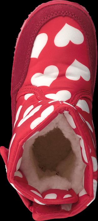 Rubber Duck Classic SnowJoggers Nylon Print Heart Print/Fiery Red