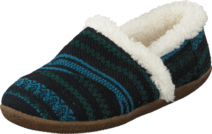 Toms - Slipper Blue green wool