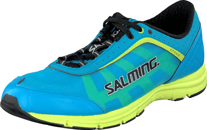Salming - Salming Speed Shoe Junior Cyan Blue