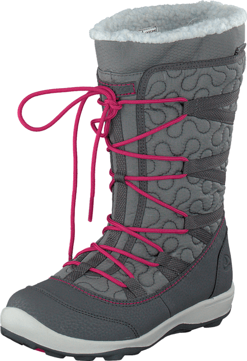 Viking - Edda Dark Grey/Dark Pink