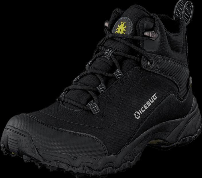 Footway SE - Icebug Pace BUGrip® Black, Skor, Kängor & Boots, Vandringskängor, Svart, Herr, 4 1647.00