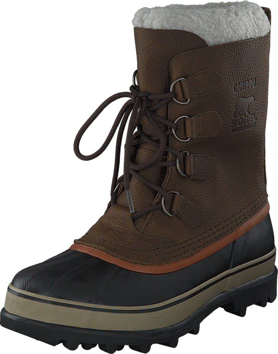 Sorel Caribou Wl Olive Brown, Dark Ginger