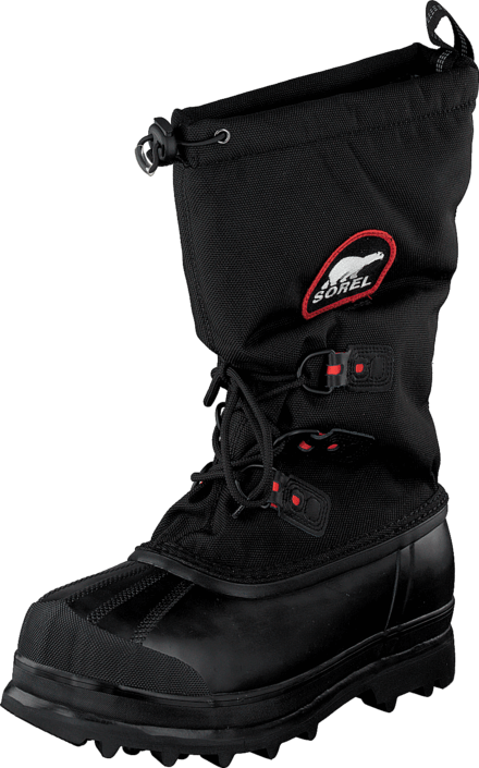 Sorel Glacier XT 010 Black Red Quartz