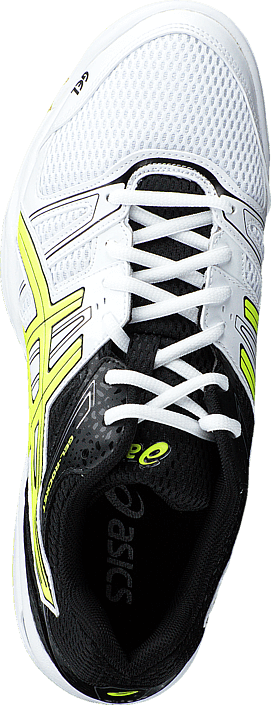 Asics Gel Rocket 7 White/Flash Yellow/Black