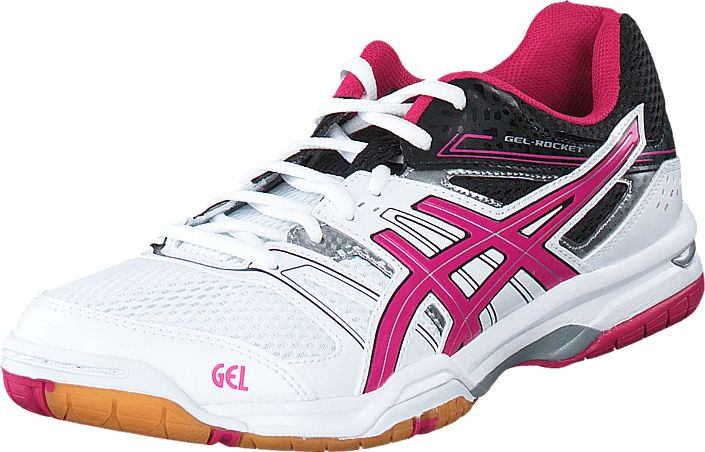 Asics - GEL-ROCKET 7 White/Magenta/Black