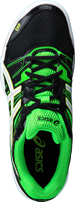 Asics - Gel Rocket 7 Black/Green/White