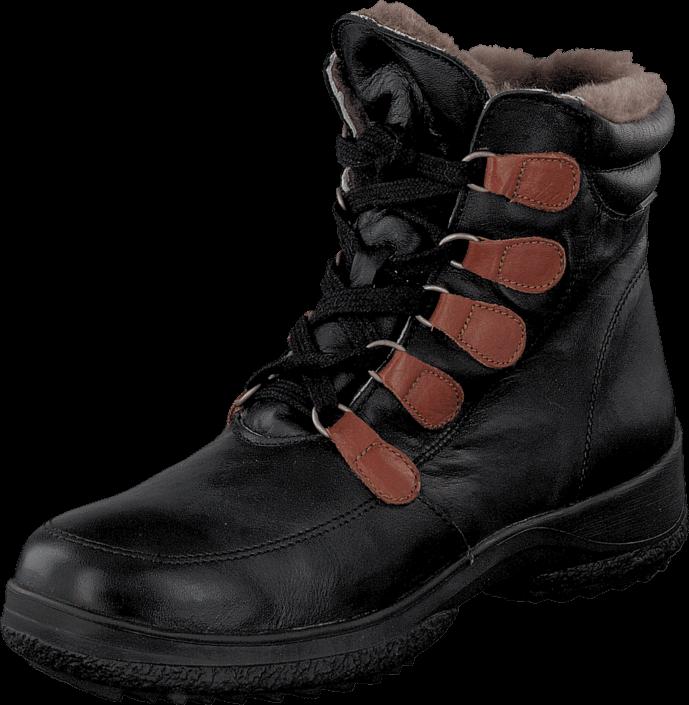 Cavalet Jörn Black, Sko, Boots & Støvler, Kraftige støvler, Sort, Unisex, 36
