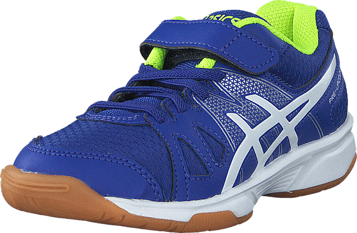 Asics - Pre-Upcourt Ps Asics Blue/White/Safety Yellow