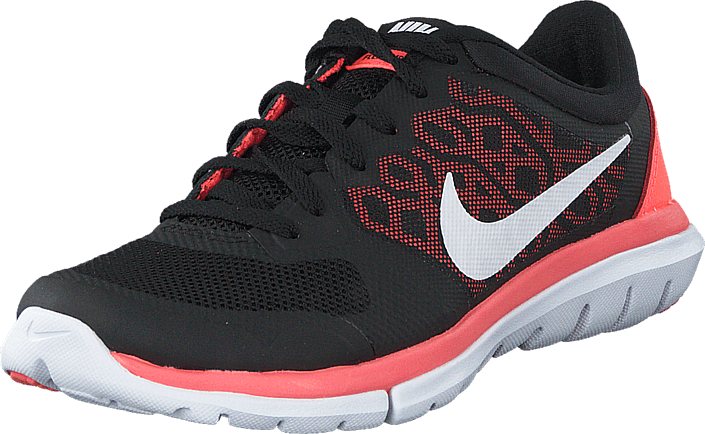 Nike - Wmns Nike Flex 2015 Rn Black/White-Hot Lava