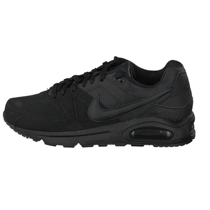 size 40 14eca c348f ... italy kjøp nike nike air max command leather black black anthracite  svart sko online footway.