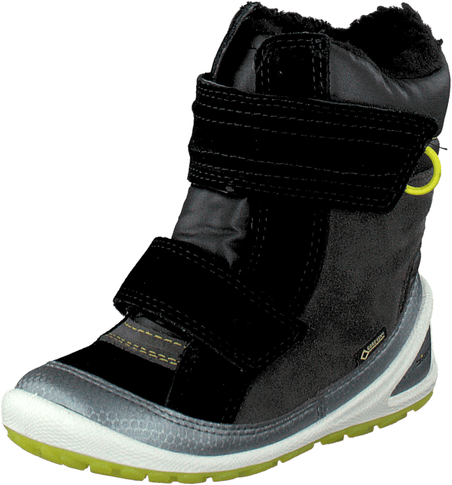 Ecco - ECCO BIOM LITE INFANTS BOOT BUFFED SILVER/BLACK