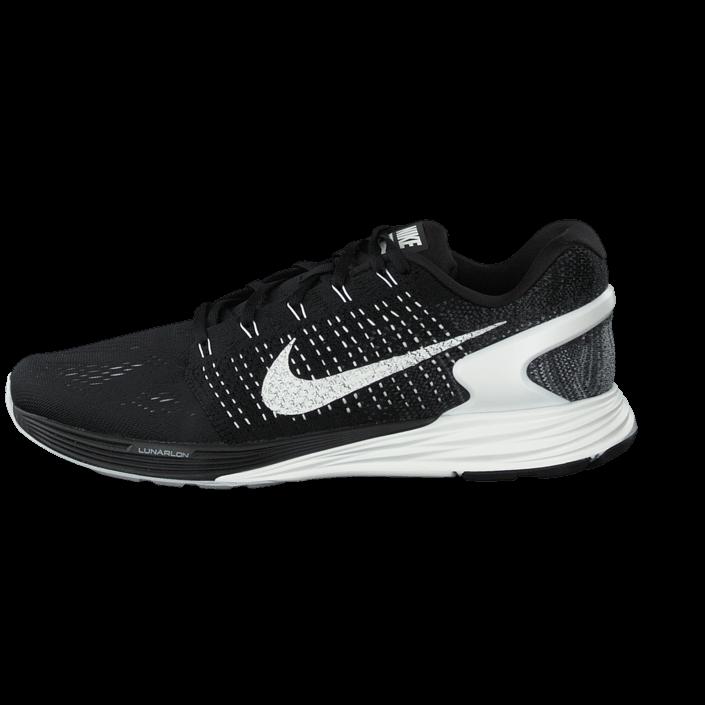 new styles d83bc b0bd3 Köp Nike Nike Lunarglide 7 Black Summit White-Anthracite svarta Skor Online    BRANDOS.se