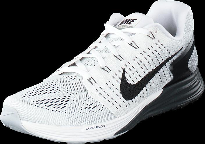 Nike Nike Lunarglide 7 White/Black-Anthracite-Cl Grey