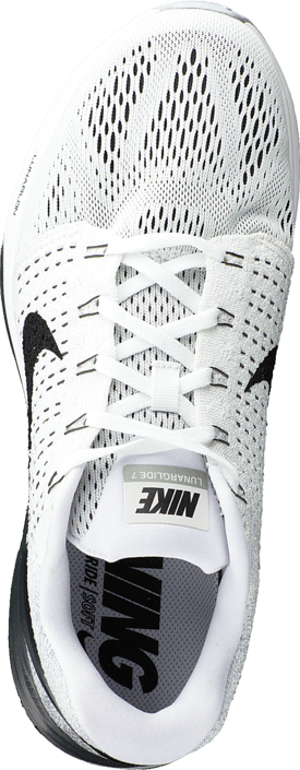 Nike - Nike Lunarglide 7 White/Black-Anthracite-Cl Grey