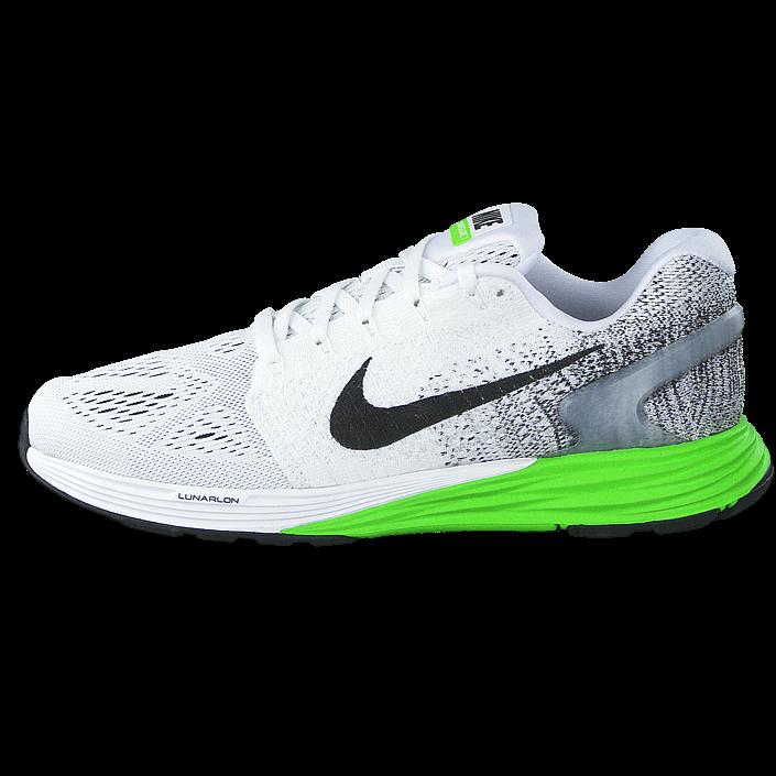 nike free køb sko online, Nike LunarGlide+ 4 Hvid Gul Rød