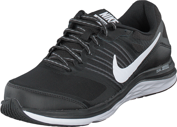 Nike - Nike Dual Fusion X Black/White-Cool Grey