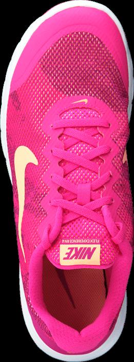 Nike - Wmns Flex Experience Rn 4 Prem Pnk Fl/Snst Glw-Fchs Flsh-Whit