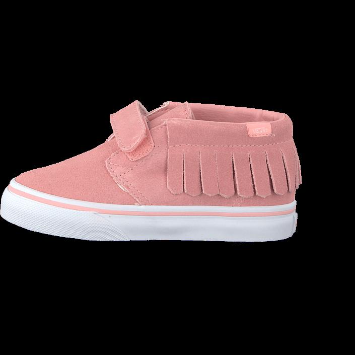 aaf480663c Buy Vans Chukka V Moc (Suede) blossom true white Pink Shoes Online