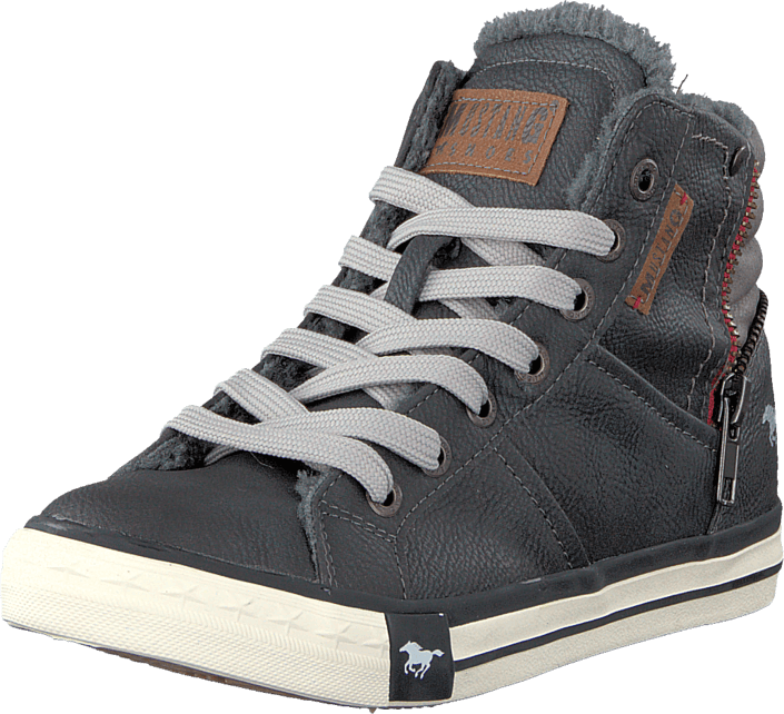 Mustang - 5024602 Jr High Top Sneaker Graphite