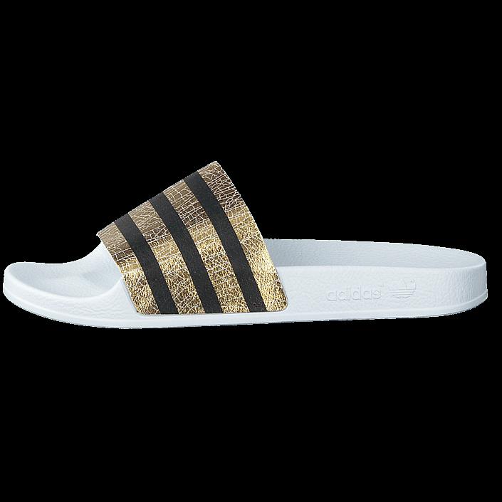 free shipping 1c801 5e6db Osta adidas Originals Adilette W Gold Met. Ftwr White valkoiset Kengät  Online   BRANDOS.fi
