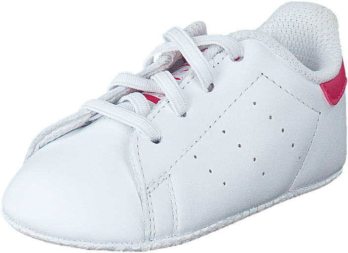 adidas Originals - Stan Smith Crib Ftwr White/Bold Pink