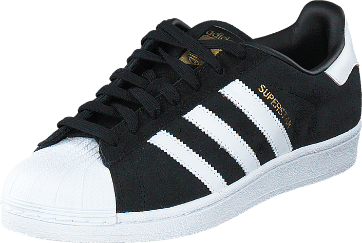 adidas Originals - Superstar Suede Core Black/Ftwr White