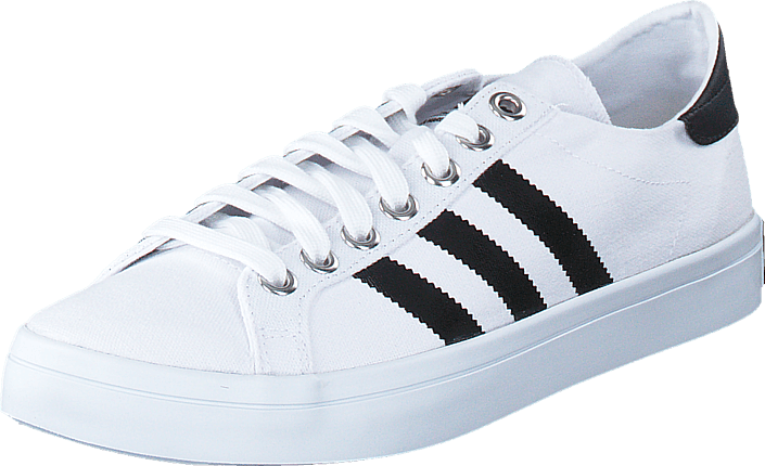 adidas Originals - Courtvantage White/Black/Metallic Silver