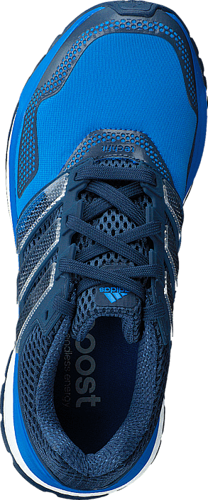 adidas Sport Performance Response Boost 2 Techfit J Shock Blue/White/Mineral Blue