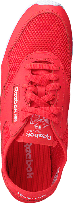 Reebok Classic Cl Nylon Slim Mesh Laser Red/Atomic Red/White