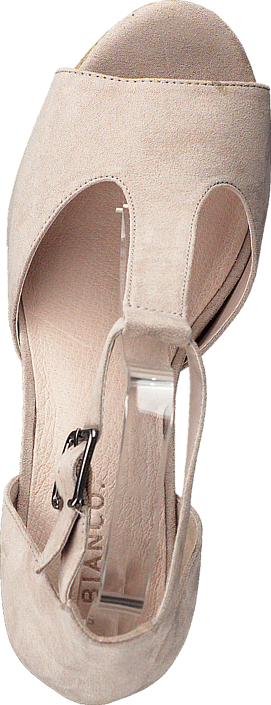 Bianco - T-bar sandal DJF 16 Nougat