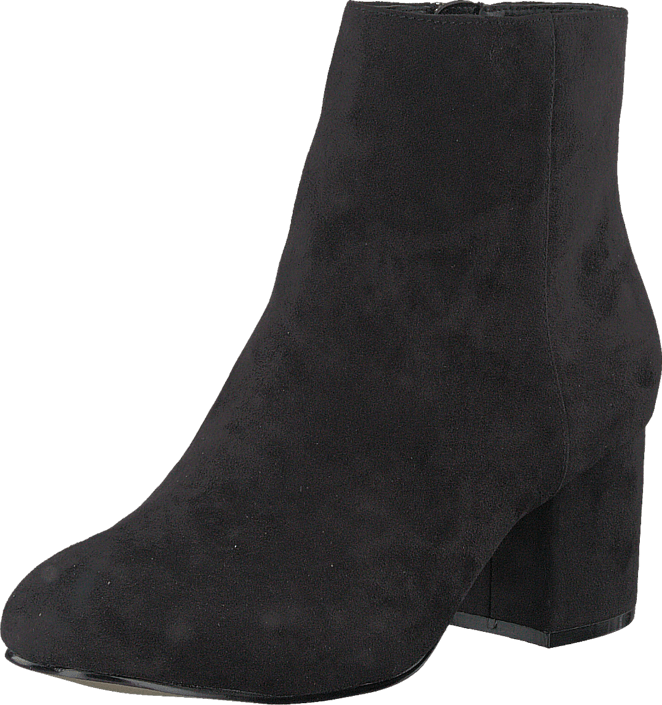 Bianco Simple Ankle Boot Black