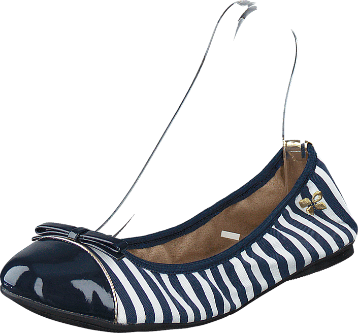 Butterfly Twists Cara Navy / White Stripe