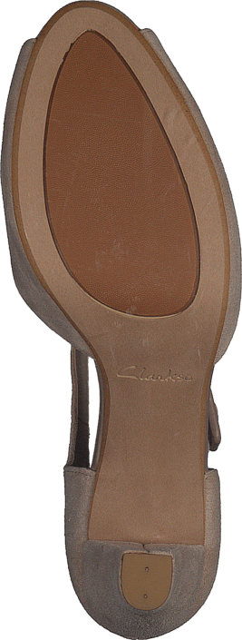 Clarks - Kendra Flower Sand Suede