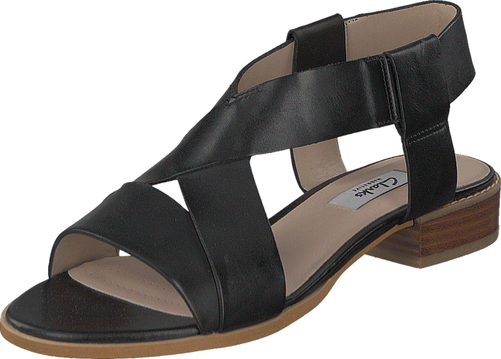 Clarks - Bliss Meadow Black Leather