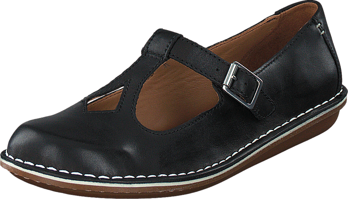 Clarks - Tustin Talent Black Leather